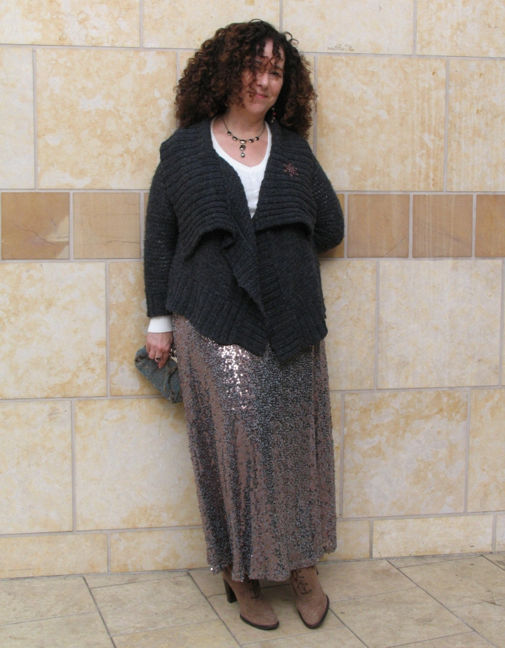FWE Blog - sequin skirt 1