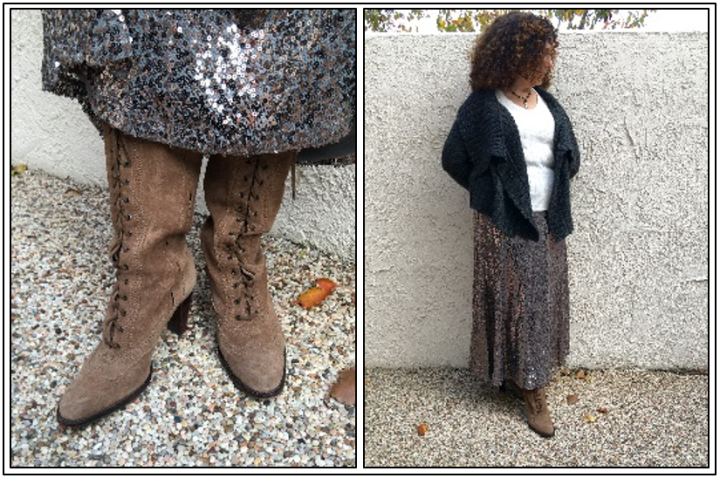 Day 19 - suede lace-up boots